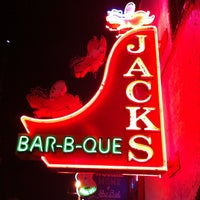 Photo taken at Jack's Bar-B-Que by Andy L. on 3/13/2012