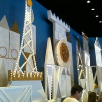 Photo taken at it's a small world by Marcos F. on 9/13/2012