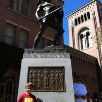 Photo taken at Tommy Trojan by Sunil G. on 9/1/2012