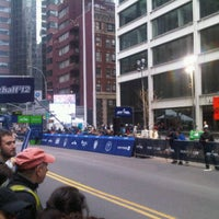 Photo taken at NYRR NYC Half 2012 - Finish Line by Ladymay on 3/18/2012