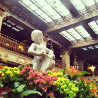 Photo taken at The Davenport Hotel by Chris D. on 8/12/2012