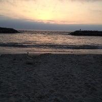 Photo taken at Playa Trocadero by Ariel D. on 7/30/2012