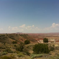 Photo taken at Painted Desert by Francesco P. on 8/18/2012