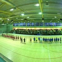 Photo taken at Lielvardes Sporta Halle by Edgars T. on 3/27/2012