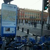 Photo taken at Vélo Bleu (Station No. 19) by Iarla B. on 3/11/2012