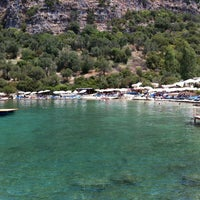 8/6/2012 tarihinde Selin E.ziyaretçi tarafından Nuri's Beach'de çekilen fotoğraf