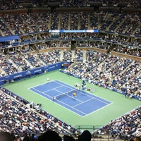 Foto tomada en Arthur Ashe Stadium - USTA Billie Jean King National Tennis Center  por Glad A. el 9/4/2012