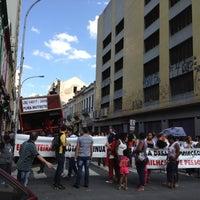 Photo taken at Rua Santa Ifigênia by Jota S. on 8/24/2012