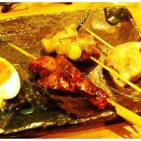 Photo taken at 炭火串焼のお店 串豊 by aya s. on 3/8/2012