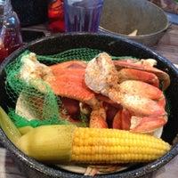 Photo taken at Joe's Crab Shack by Alex Poppinton on 4/8/2012