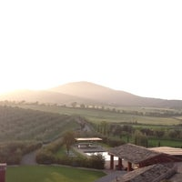 Photo taken at Locanda Rossa Resort Caplabio by Eric L. on 4/30/2012