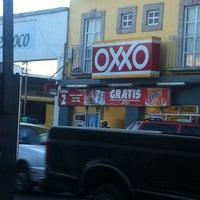 Photo taken at Oxxo Juarez by Jesus O. on 5/28/2012