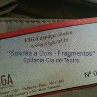 Foto tirada no(a) Teatro Viga por Talita L. em 5/20/2012