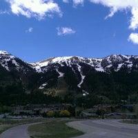 Photo taken at Teton Village by Phil C. on 5/6/2012