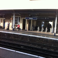 Photo taken at Staines Railway Station (SNS) by James R. on 3/22/2012
