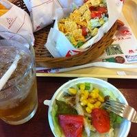 Photo taken at モスバーガー 祖師ヶ谷大蔵駅前店 by takeponchi on 4/30/2012