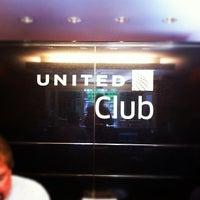 Photo taken at United Club by Mayumi I. on 4/2/2012