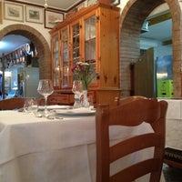 Photo taken at Trattoria Al Gatto Nero da Ruggero by Ash V. on 7/11/2012