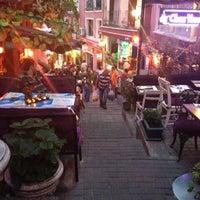 Photo taken at Cezayir Sokağı by Victoria on 8/6/2012