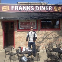 Photo taken at Frank's Diner by Andrew G. on 3/25/2012