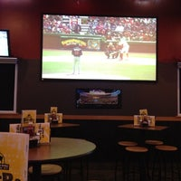 Photo taken at Buffalo Wild Wings by Maeghan on 4/9/2012