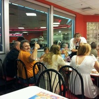 Photo taken at Steak 'n Shake by Jason B. on 4/14/2012