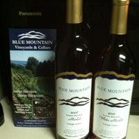 Photo taken at Blue Mountain Vineyards & Cellars by Doug C. on 2/11/2012