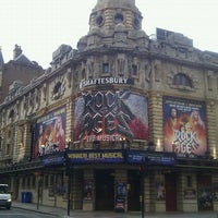 Photo taken at Shaftesbury Theatre by Jay P. on 6/22/2012