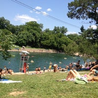 Photo taken at Barton Springs Pool by Lucky M. on 5/28/2012