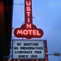 Photo taken at Austin Motel by Amanda I. on 3/9/2012