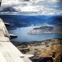 Photo taken at Kelowna International Airport (YLW) by Chris B. on 7/5/2012