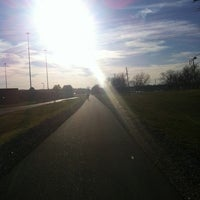 Photo taken at Memphis Greenline Bike Trail by Gina G. on 3/10/2012