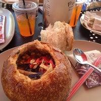 Photo taken at Panera Bread by Robin B. on 6/15/2012
