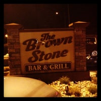 Photo taken at The Brown Stone Bar & Grill by Zach W. on 4/29/2012