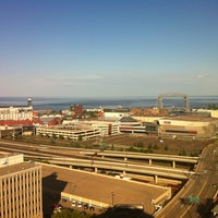 Photo taken at Radisson Hotel Duluth-Harborview by Rob B. on 6/30/2012