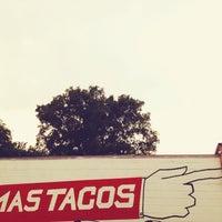 Photo taken at Mas Tacos Por Favor by Motke D. on 5/19/2012