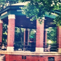 Photo taken at Church Square Park by Ali F. on 6/6/2012