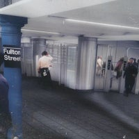 Photo taken at MTA Subway - Fulton St (A/C/J/Z/2/3/4/5) by Nicola D. on 2/4/2012