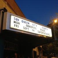 Photo taken at Visulite Theatre by Jim D. on 8/28/2012
