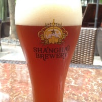 Photo taken at Shanghai Brewery by Dave B. on 4/14/2012