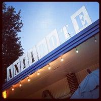 Photo taken at Antidote Coffee by Joshua J. on 9/11/2012