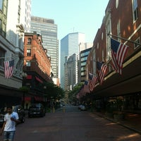 Photo taken at Downtown Crossing by Ferhat A. on 8/4/2012