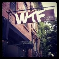Снимок сделан в WTF Coffee Lab пользователем Melody K. 7/28/2012