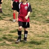 Photo taken at Stoddert Soccer @ Carter Baron Fields by Chris S. on 4/21/2012