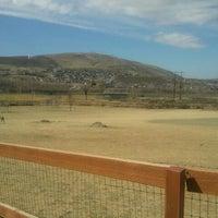 Photo taken at Badger Mountain Dog Park by Julie H. on 3/26/2012