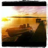 Photo taken at Round Lake by Lorna J. on 6/23/2012