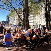 Photo taken at Café Skansen by Lene H. on 4/29/2012