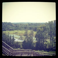 Photo taken at Temple Mound @ Ocmulgee Natl Monument by Leila R. on 9/12/2012