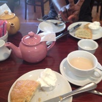 Photo taken at Ana Beall's Tea Room by Bisola T. on 4/21/2012