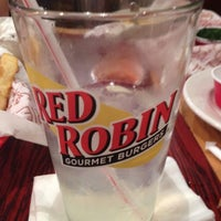 Photo taken at Red Robin Gourmet Burgers by Dionne J. on 6/16/2012